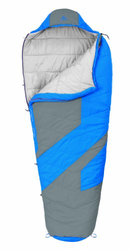 Kelty Light Year XP 40 Synthetic Sleeping Bag, Regular, Blue Aster