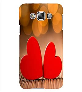 ColourCraft Love Hearts Design Back Case Cover for SAMSUNG GALAXY GRAND 3