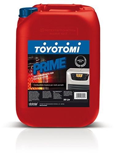 Toyotomi PRIME20L Prime Combustibile per Stufe Zibro, 20 Litri, Aromatici < 0.00080%