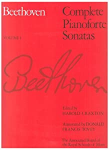 Beethoven Complete Pianoforte Sonatas Volume 1 by Associated Board of the Royal Schools of Music