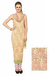 Chippa Studio Women Cotton Dress Material (Cs1940 _Multi-Coloured)