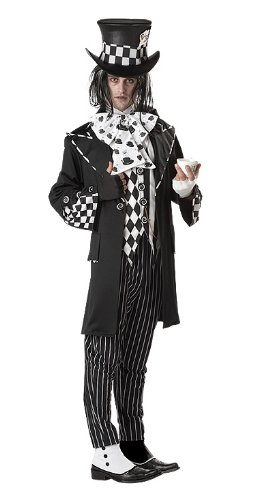 Private Label Men's Dark Mad Hatter Costume