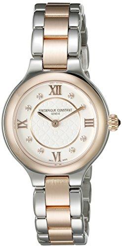 Frederique Constant Geneve Delight FC-200WHD1ER32B Reloj de Pulsera para mujeres con diamantes genuinos