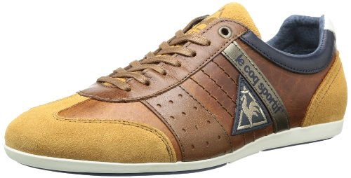 Le coq Sportif Mens TACO LOW Low Brown Braun (Tortoise Shell) Size: 41