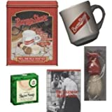 Burma Shave Nostalgia Set: Includes Mug, Brush & Van Der Hagen Shave Soap