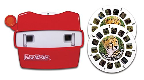 Basic Fun View Master Classic Viewer with 2 Reels Safari Adventure Toy - 1
