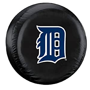 MLB Detroit Tigers Large Tire Cover by Fremont Die