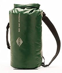 Aqua Quest Mariner 10 - 100% Waterproof Dry Bag Backpack - 10 L, Durable, Comfortable, Lightweight, Versatile - Green