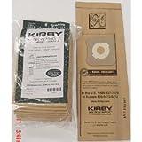 Kirby Part#197301 - Genuine Kirby HEPA Filtration Vacuum Bags Model G6 and Ultimate G - 9/Package