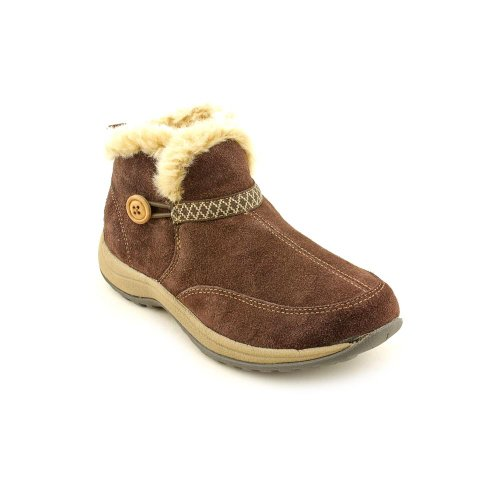 Easy Spirit Skilift Womens Size 9 Brown Suede Fashion Ankle Boots