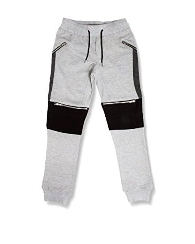 American People Pantalone Felpa Hero Jog Jeans J [Grigio]