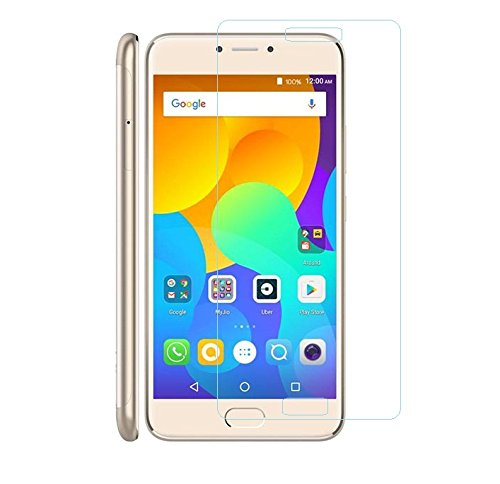 Micromax Canvas Evok Note E453, Tempered Glass , Premium Real 2.5D 9H Anti-Fingerprints & Oil Stains Coating Hardness Screen Protector Guard For Micromax Canvas Evok Note E453