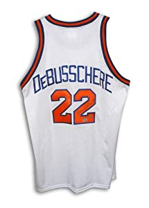 Dave DeBusschere Signed Jersey - New York Knicks Throwback by Sports Memorabilia