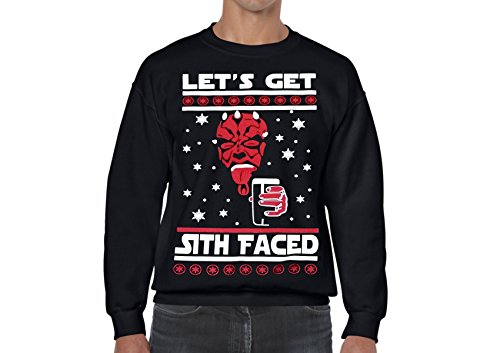Star Wars Sith Faced Ugly Christmas Sweater