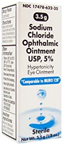 Sodium Chloride Ophthalmic Ointment - 3.5 g