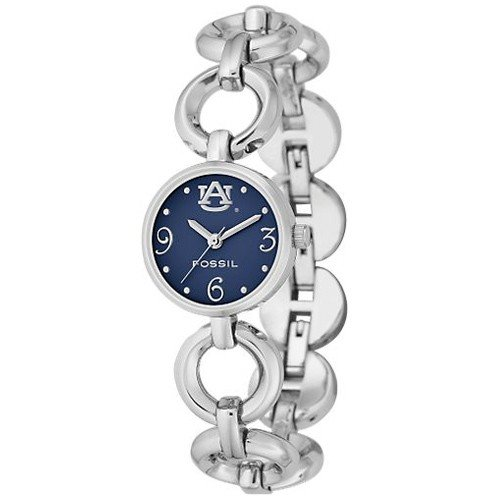 Fossil Auburn Tigers Ladies Stainless Steel Open Link Watch at Amazon.com
