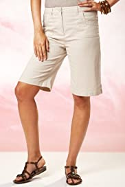 Per Una Roma Cotton Rich Stretch Shorts [T62-0710H-S]