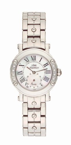 Jules Jurgensen Women's 7959W European Crystal Accented Watch