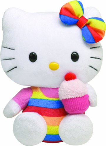 Ty-Beanie-Baby-Hello-Kitty-Cupcake