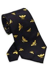 Bumble Bees - Men's Silk Necktie