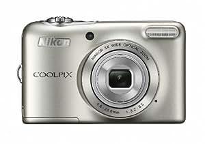 Nikon デジタルカメラ COOLPIX L30 5倍ズーム 2005万画素 乾電池タイプ シルバー L30SL