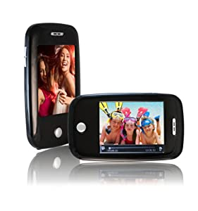 Sly Electronics 8 GB Video MP3 Player with  Video Recorder, 3-Inch Touchscreen, 5MP Digital Camera, FM Radio, and Speaker (Black)