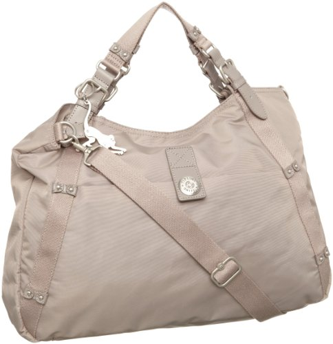 Kipling Women's Jasmine Large A4 Shoulder Bag With Removable Shoulder Strap Chestnut Beige K24536