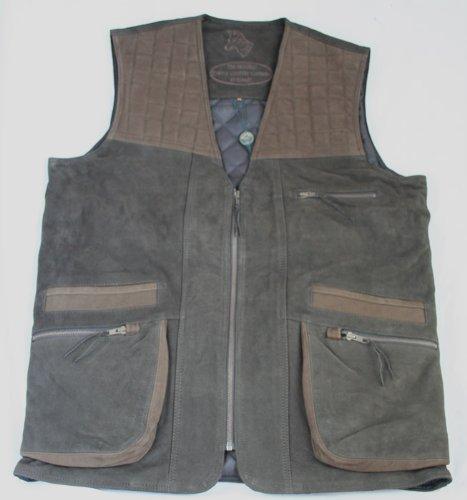 Bonart Deer Nubuck Leather Gilet L