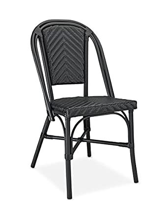 Table In A Bag CBCBB All Weather Wicker French Caf Bistro Chair
