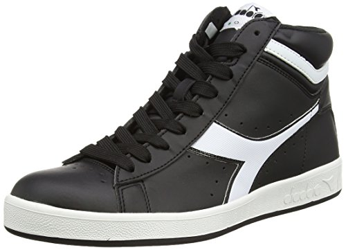 Diadora Game P High Scarpe Sportive, Unisex Adulto, Nero, 43