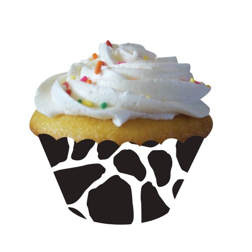 Creative Converting Cow Print 12 Count Cupcake Wrappers - 1
