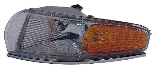 Depo 333-1525L-US Chrysler New Yorker/LHS Driver Side Replacement Parking/Signal/Side Marker Lamp Unit Style: Driver Side (LH)