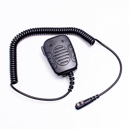 Heavy Duty Speaker Microphone with LED Light for Motorola
