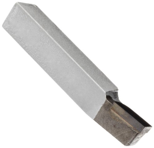 American Carbide Tool Carbide-Tipped Tool Bit for Lead Angle Turning, Left Hand, K68 Grade, 0.375