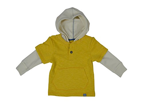 Alfa Global Boy'S Genuine Osh Kosh Pull-Over Hoodie Layered Look Top 5T back-301437