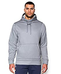 Under Armour Men\'s UA Storm Armour® Fleece Team Hoodie 3XL True Gray Heather