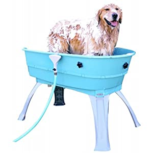 Booster Bath Elevated Dog Wash Tub - Medium