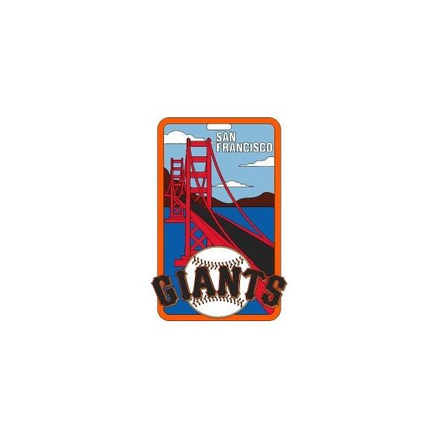 San Francisco Giants   MLB Soft Luggage Bag Tag