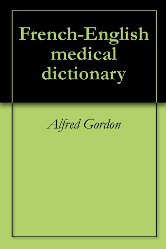 French-English medical dictionary