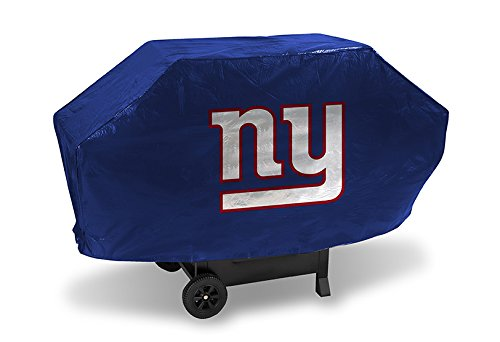 New York Giants Deluxe Heavy Duty Barbeque BBQ Grill Cover Authentic NFL Hologram (Giants Grill Cover compare prices)
