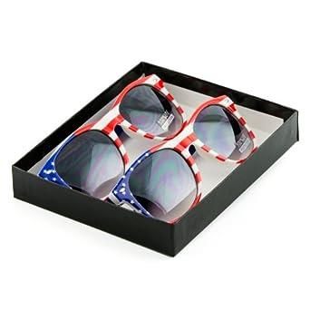 grinderPUNCH® American Flag Wayfarer Sunglasses Glasses
