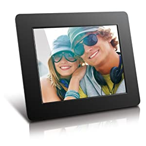 Aluratek ADPF08SF 8-Inch Digital Photo Frame 800x600 Hi Resolution