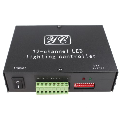 Cuy-0012 Full-Color Led Dmx512 Rgb Lighting Controller Decoder
