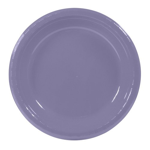 10 Inches Luscious Lavender Dinner Plates Package of 20