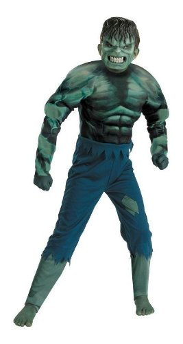 Costumes For All Occasions Dg7132L Hulk Child Muscle 4-6