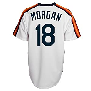 Joe Morgan Houston Astros Replica Cooperstown Jersey by Majestic by Majestic