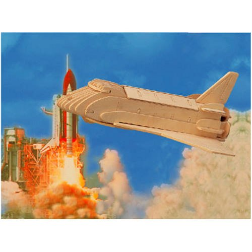 Space Shuttle 3D Woodcraft Construction Kit - Buy Space Shuttle 3D Woodcraft Construction Kit - Purchase Space Shuttle 3D Woodcraft Construction Kit (Puzzled by Creative Ventures, Toys & Games,Categories,Construction Blocks & Models,Construction & Models,Vehicles,Spacecraft)