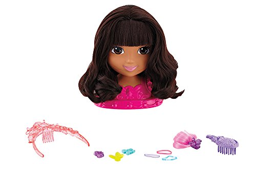 Fisher-Price Nickelodeon Dora and Friends Ballerina Dora Styling Head (Fisher Price Clip On Dolls compare prices)