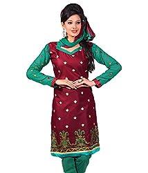 TFW Embroidery Salwar Kameez Cotton Dress Material