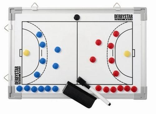 Derbystar Uni Taktiktafel Handball, weiß, 4047000000